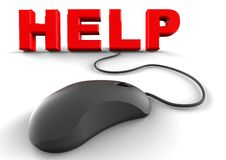Online Help concept Royalty Free Stock Images