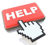 Online Help. In the design of related information to support Stock Image