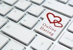 Online het Dateren Concept Royalty-vrije Stock Fotografie