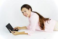 Online het winkelen Royalty-vrije Stock Foto's