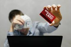 Online het winkelen en betaling Stock Fotografie
