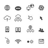 Online icons Stock Photos