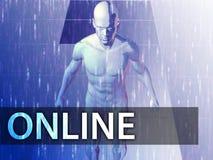 Online  illustration Stock Photography