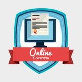 Online imparare progettazione royalty illustrazione gratis