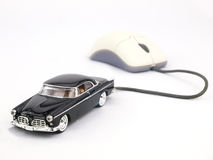 Online internet car Royalty Free Stock Images