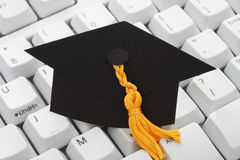 Online or internet education Stock Photo
