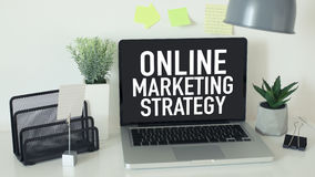 Online internet marketing Royalty Free Stock Image