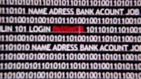 online internet security stock video stock video