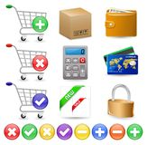 Online Internet Shop Stock Photos