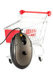 Online Internet Shopping Royalty Free Stock Images