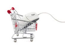 Online internet shopping Stock Photo