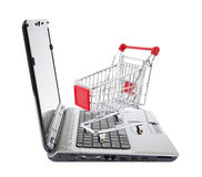 Online internet shopping Stock Photo