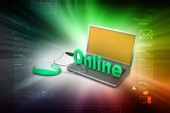 Online job concept Royalty Free Stock Photo