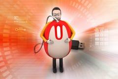 Online job concept Stock Photo