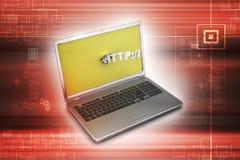 Online job concept Stock Photography