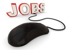 Online Jobs concept Stock Photos