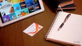 Online kaufen und E - Geld Stockfotos