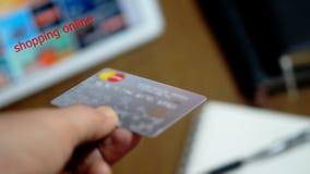 Online kaufen und E - Geld Lizenzfreies Stockbild