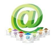Online komunikacja Zdjęcie Royalty Free