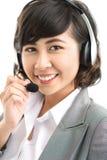 Online konsultant fotografia royalty free