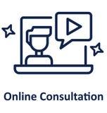 Online konsultant Odizolowywał Wektorową ikonę która może łatwo zmodyfikowany lub redagować ilustracja wektor