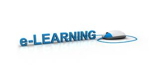Online Learning Royalty Free Stock Photo