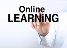 Online Learning Royalty Free Stock Photography