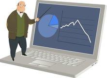 Online lerend vector illustratie