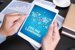 Online lerend royalty-vrije illustratie