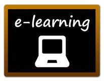 Online lernend Lizenzfreie Stockfotos