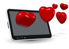 Online love Stock Images