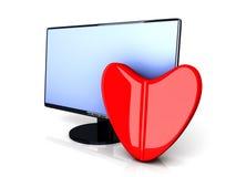 Online Love Pill Stock Photos