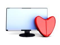 Online Love Pill Stock Image