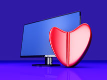 Online Love Pill Stock Photography