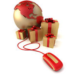 Online luxury gifts America Royalty Free Stock Photo
