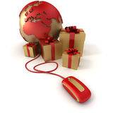 Online luxury gifts Europe Africa Stock Images