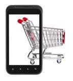 Online market Stock Image