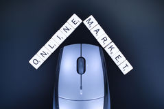 Online Market Concept Royalty Free Stock Photo