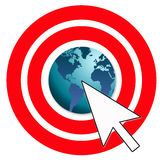 Online marketing. For global business success Royalty Free Stock Photography