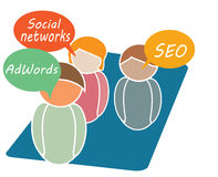 Online Marketing Stock Images