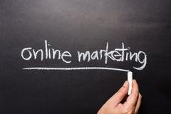 Online marketing Obrazy Stock