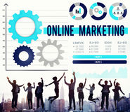 Online Marketing Advertisement Commercial Branding Concept Royalty Free Stock Photography