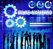 Online Marketing Advertisement Commercial Branding Concept Royalty Free Stock Photo