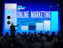 Online Marketing Advertisement Target Promotion Concept Royalty Free Stock Image
