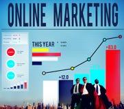 Online Marketing Advertisement Target Promotion Concept Stock Image