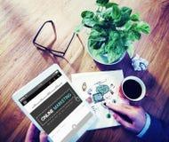Online Marketing Advertising Branding Commerce Concept royalty free stock image