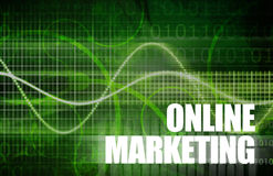 Online Marketing Stock Image