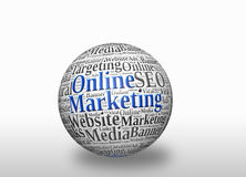 Online  marketing Royalty Free Stock Images