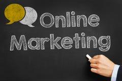 Online Marketing Stock Image