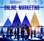 Online Marketing Internet Advertising Branding Concept Royalty Free Stock Photography